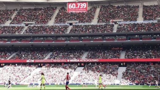 El fútbol femenino pulveriza otro récord en el Wanda Metropolitano