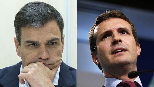 ¿Sánchez y Casado reeditarán el 'cara a cara' del bipartidismo antes del 28-A?