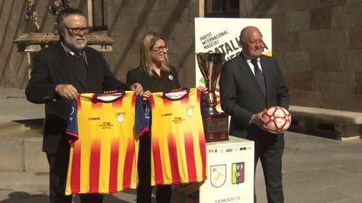 El Govern presume de partido entre selecciones: Catalunya-Venezuela