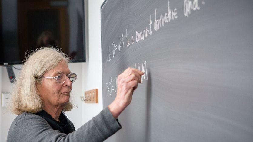 Karen Uhlenbeck, la primera mujer que gana el prestigioso premio Abel de Matemáticas