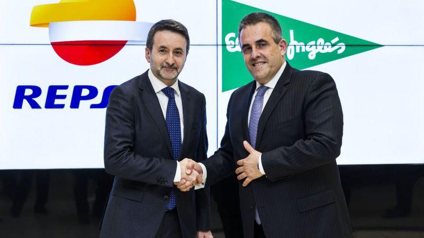 Los consejeros delegados de Repsol y El Corte Inglés, Josu Jon Imaz y Víctor del Pozo, respectivamente