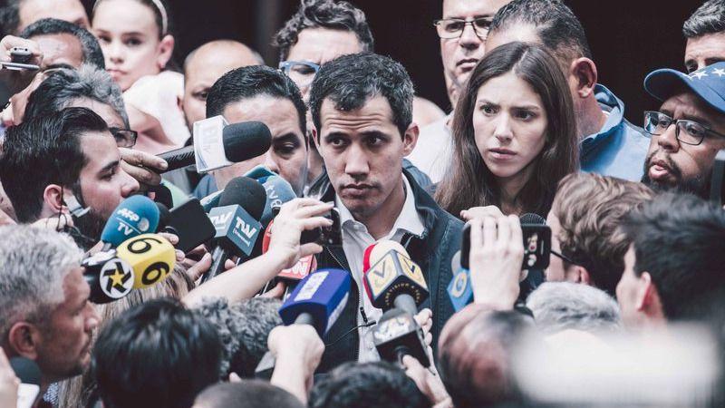 La policía venezolana detiene al 'número 2' de Juan Guaidó