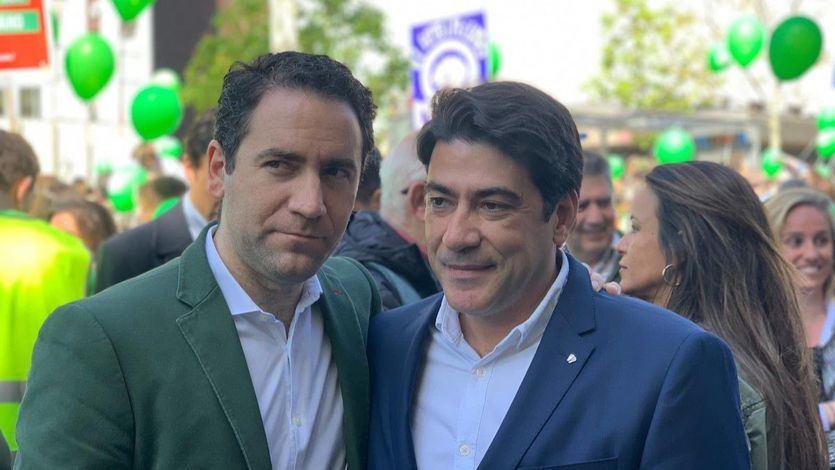 García Egea, en la marcha contra el aborto: 'Creo que hasta los de Podemos tienen familia'