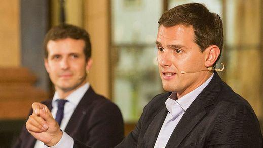 Rivera y Casado se dan el 'sí quiero' para un gobierno en coalición tras el 28-A