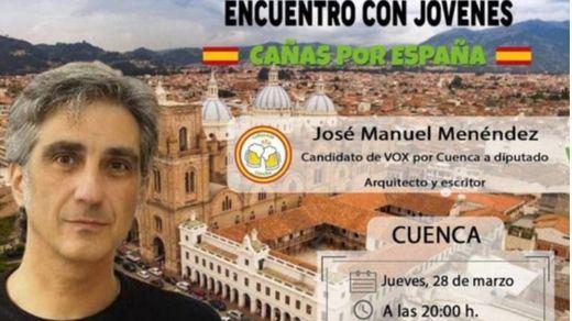 La última 'pifia' viral de Vox: usan en su campaña una imagen de la Cuenca de Ecuador