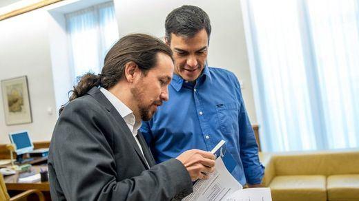 Las cloacas del Estado con Villarejo al frente intentaron tumbar el pacto PSOE-Podemos para gobernar en 2016