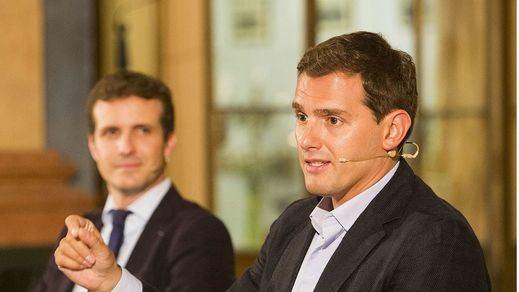 De ministro de Exteriores a vicepresidente: Casado 'asciende' a Rivera en su proyecto de gobierno