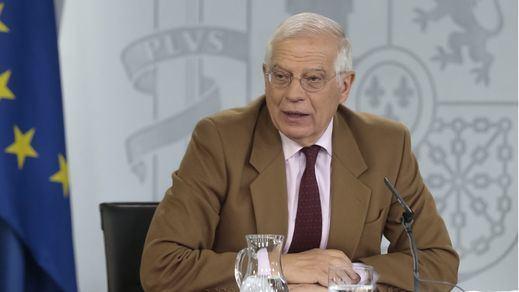 Borrell pierde los papeles y abandona una entrevista en la televisión alemana
