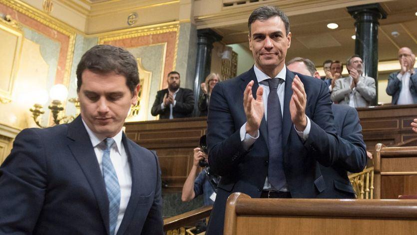 Las presiones a PSOE y Ciudadanos para una alianza secreta tras las elecciones: salen las cuentas