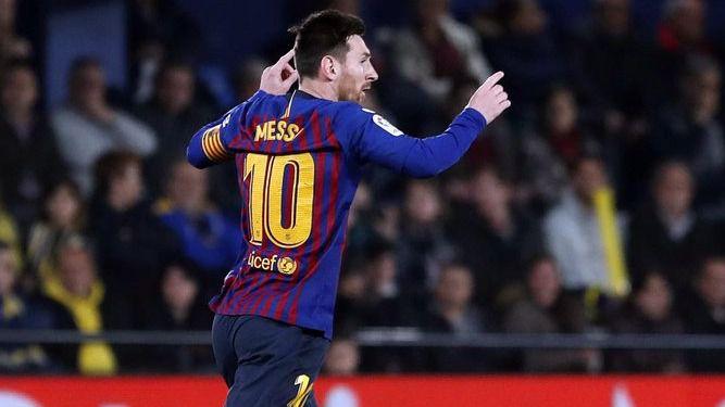 Messi vuelve a salvar al Barça de jugar sin Messi (4-4)