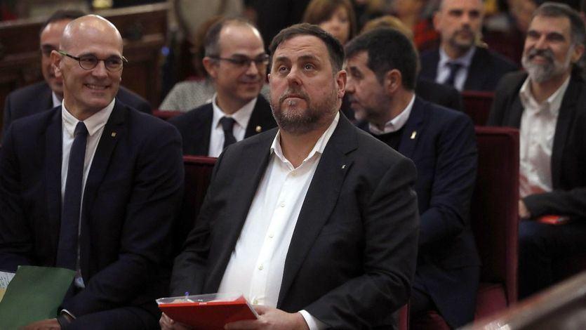 El Supremo podría dejar salir a Junqueras y a otros presos para firmar sus actas de diputados
