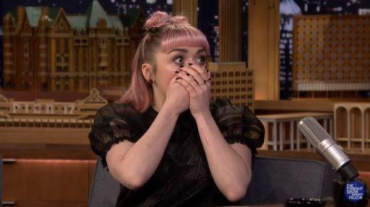 La actriz que da vida a Arya Stark 'trolea' a los fans de Juego de Tronos