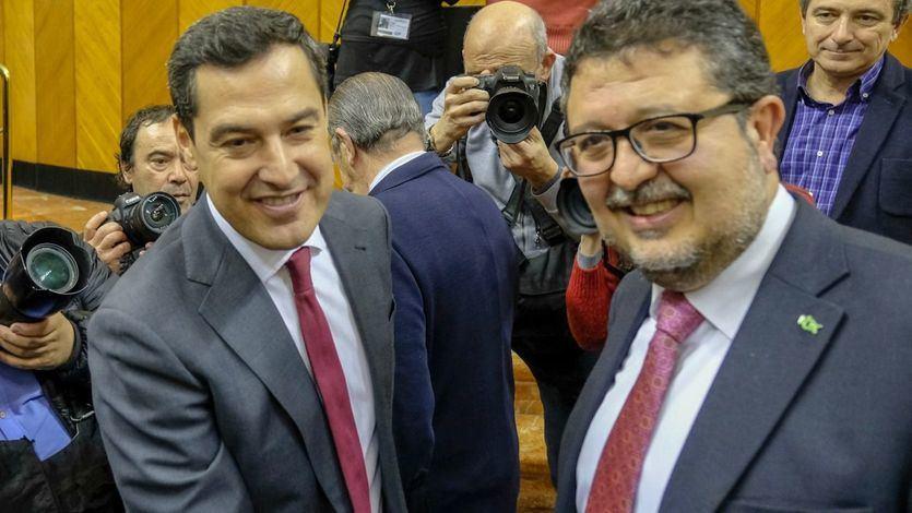 Vox vetará las cuentas en Andalucía si el PP no vacía las partidas contra la violencia de género y memoria histórica