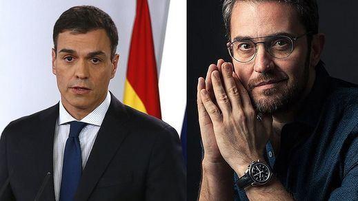El 'recadito' del ex ministro Màxim Huerta a Pedro Sánchez