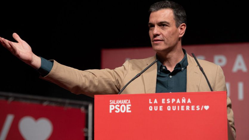 Sánchez: 'Éste es un país de buena gente que no roba, que no espía, que no deja tirado al que sufre'