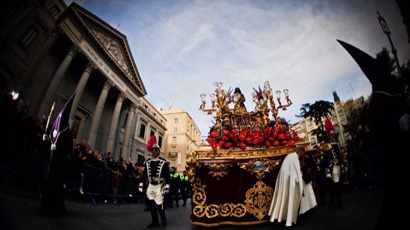 Preguntan a la Junta Electoral si es 'procedente' que cargos públicos participen en las procesiones de Semana Santa