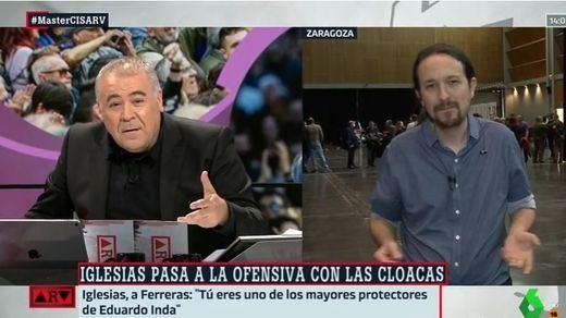 Iglesias abronca a Ferreras: