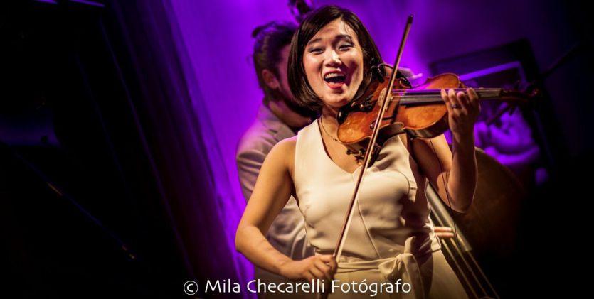 Maureen Choi Quartet han presentado su nuevo disco 'Theia' en AC Recoletos
