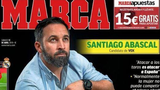La polémica entrevista de 'Marca' a Abascal: en contra de 'La Roja', el Athletic de Bilbao, volver a la 'mili'...