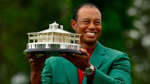 Tiger Woods gana el Masters de Augusta 14 años después de su última victoria