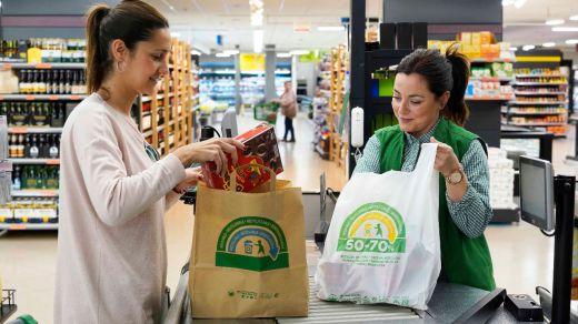 Mercadona culmina la sustitución total de las bolsas de plástico