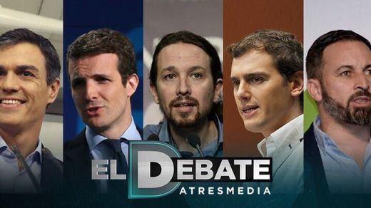 Las reacciones de los candidatos a la suspensión del debate a 5 de Atresmedia