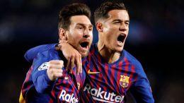 Messi y la inesperada ayuda de De Gea meten al Barça sin apuros en semifinales (3-0)