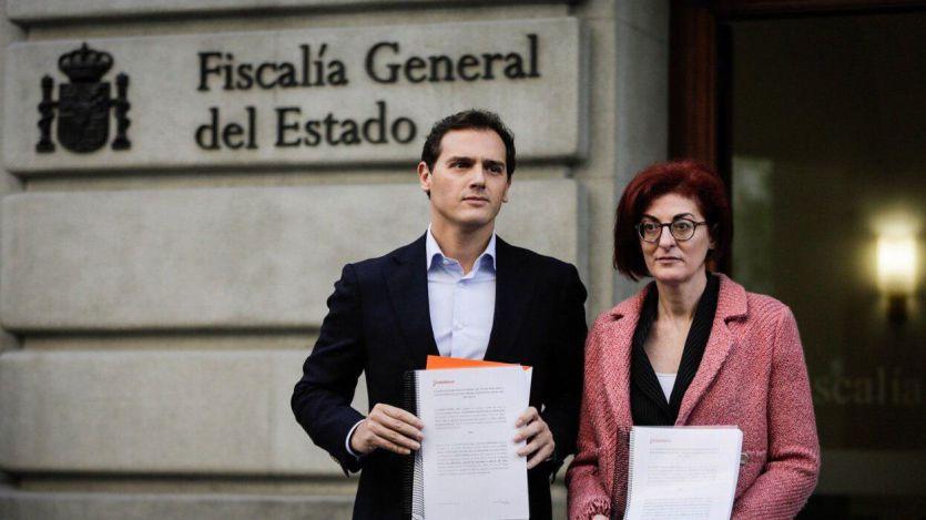 Ciudadanos presenta la denuncia en la Fiscalía por los incidentes de su mitin en Rentería