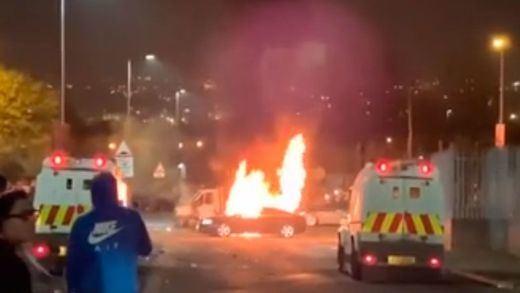 Disturbios en Irlanda del Norte
