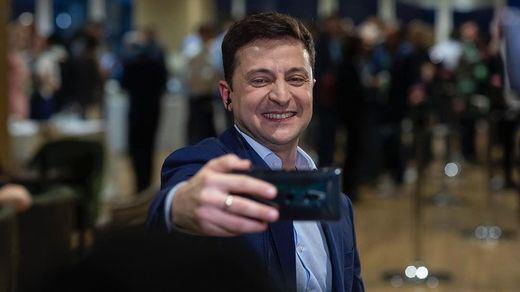 El actor cómico Volodymyr Zelensky será el nuevo presidente de Ucrania