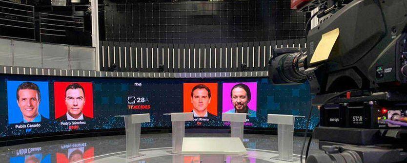 Todo sobre el debate de RTVE: horario, turnos de intervención, temas...
