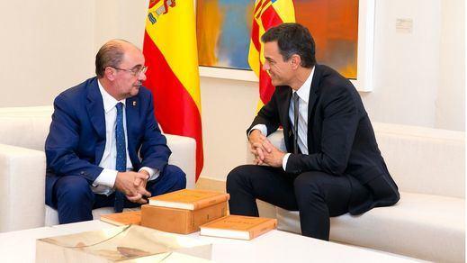 Lambán responde por Sánchez: 'No indultaría a los independentistas'