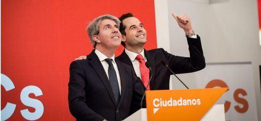 Garrido abandona a Casado y ficha por Cs para la Comunidad de Madrid