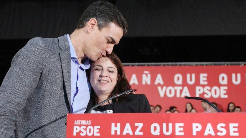 Sánchez, en Gijón: 'No va a haber referéndum ni independencia, ni se va a quebrar la Constitución'