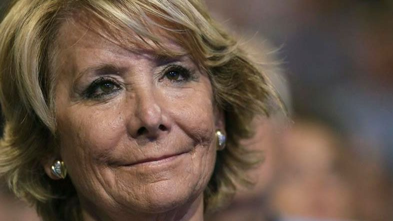 Esperanza Aguirre, implicada por primera vez con pruebas en la trama 'Púnica'
