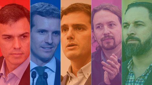 Fin del primer asalto: así llegan los principales partidos a las elecciones