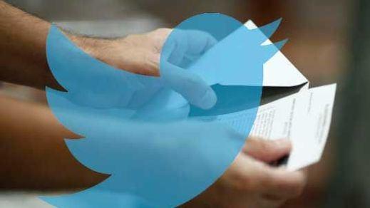 Así 'vive' Twitter la jornada electoral