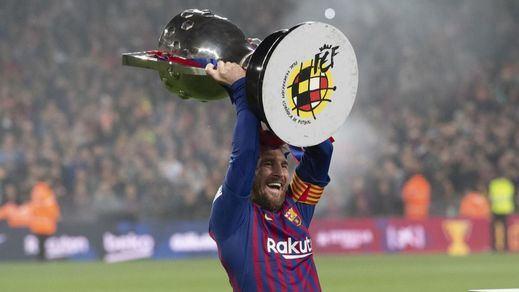 El Barça vuelve a conquistar La Liga