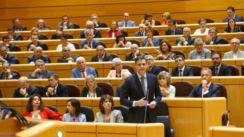Adiós al fantasma del 155: el PSOE se hace con el 'control absoluto' del Senado