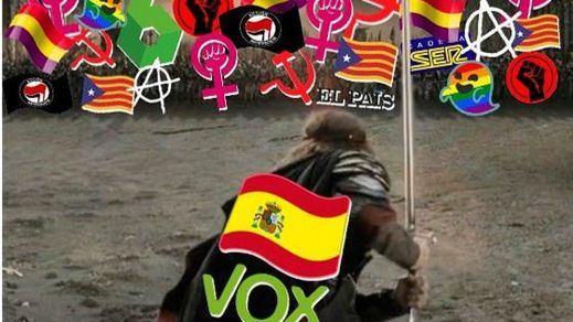 Arcópoli denuncia la polémica campaña de Vox y su 'batalla' del 28-A