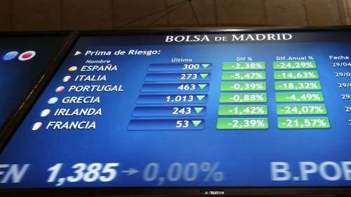 La bolsa recibe positivamente el triunfo de Sánchez en las elecciones