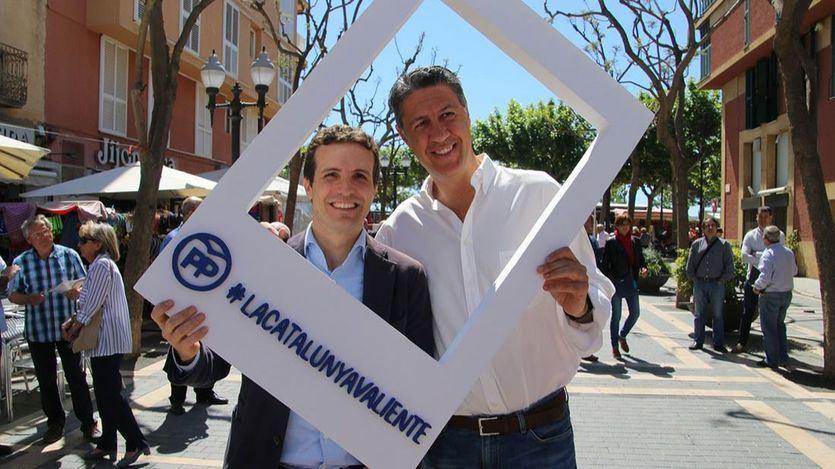 A Casado le abandona hasta su candidato en Badalona con su lema: 'Le voy a votar a él, a Albiol. Al PP no'