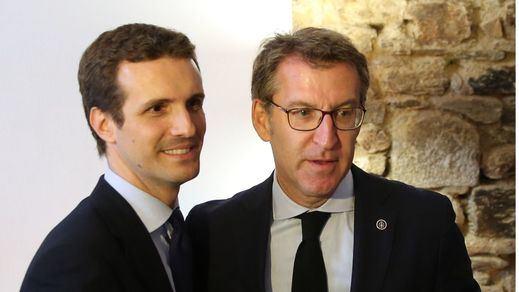 Los barones territoriales del PP hacen piña pero piden a Casado 'recentrar' el partido antes del 26-M