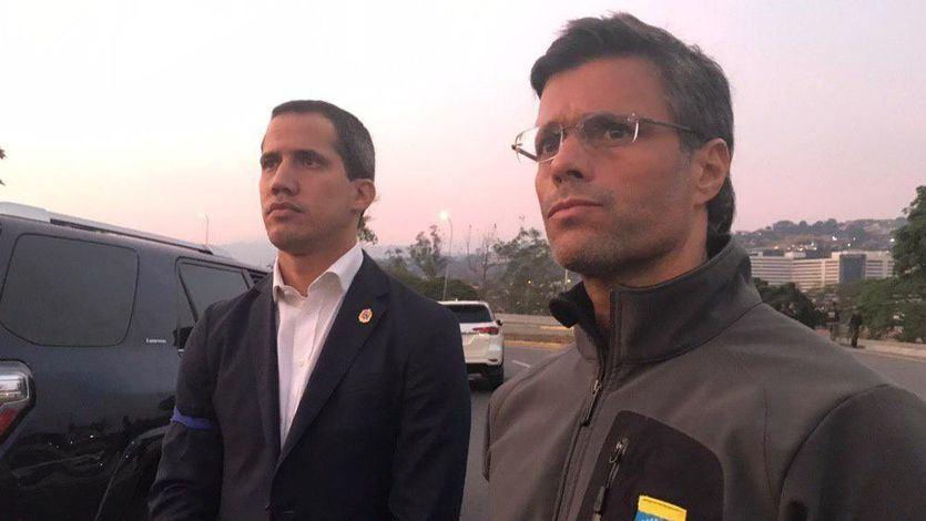 Alta tensión en Venezuela: Guaidó llama al golpe y Maduro asegura contar con la lealtad de los militares