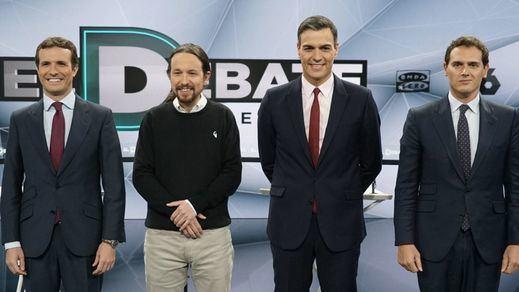 Sánchez cita a los líderes de PP, Cs y Unidas Podemos y da la espalda a Vox