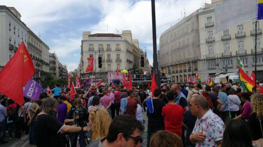 Manifestación del 1 de Mayo: los trabajadores piden a Sánchez un giro a la izquierda