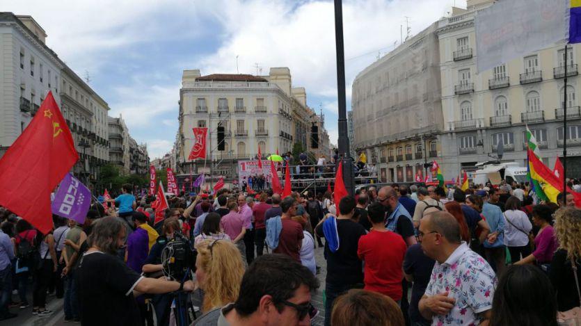Manifestación Día Internacional del Trabajo 1 de mayo