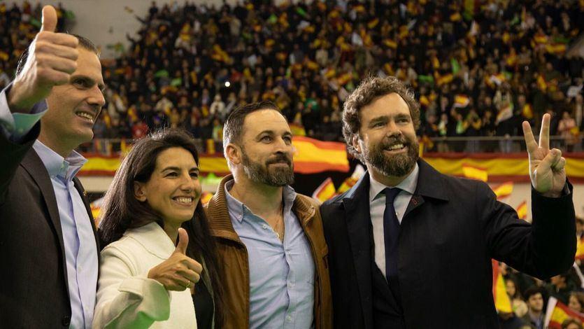 Acto de campaña de Vox en Las Rozas