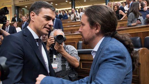 La izquierda también se pelea: la relación entre PSOE y Podemos, rota antes de comenzar la legislatura