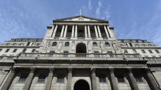 El BoE mantiene tipos